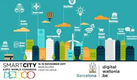 Wallonia en Smart City Expo World Congress 2017